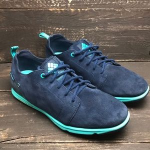 Columbia Men's Techlite Blue Suede Sneakers